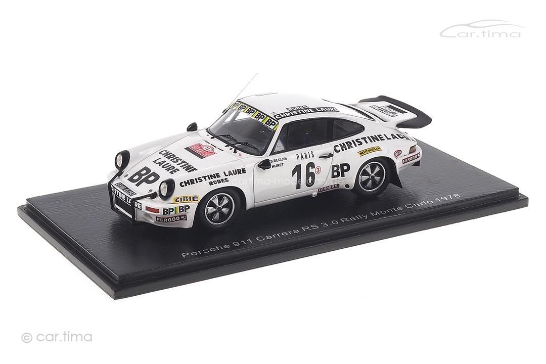 Porsche 911 Carrera Rallye Monte Carlo 1978 Béguin/Huret Spark 1:43 S6640