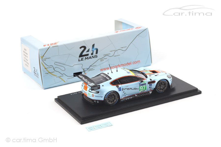 Aston Martin Vantage V8 24h Le Mans 2014 Spark 1:43 S4231