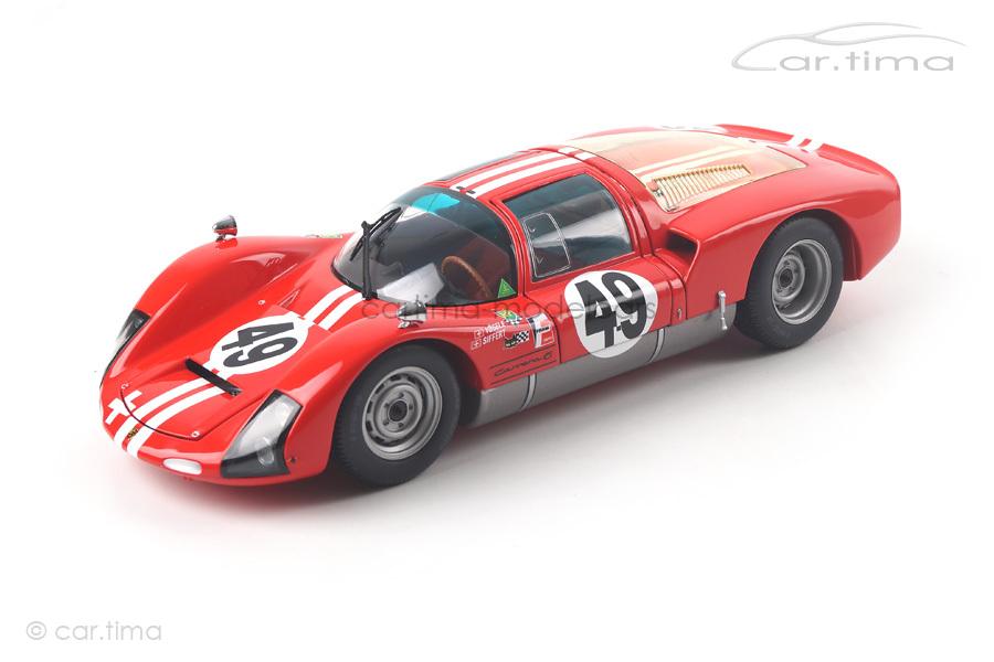 Porsche 906K 12h Sebring 1966 Vögele/Siffert Minichamps 1:18 100666149