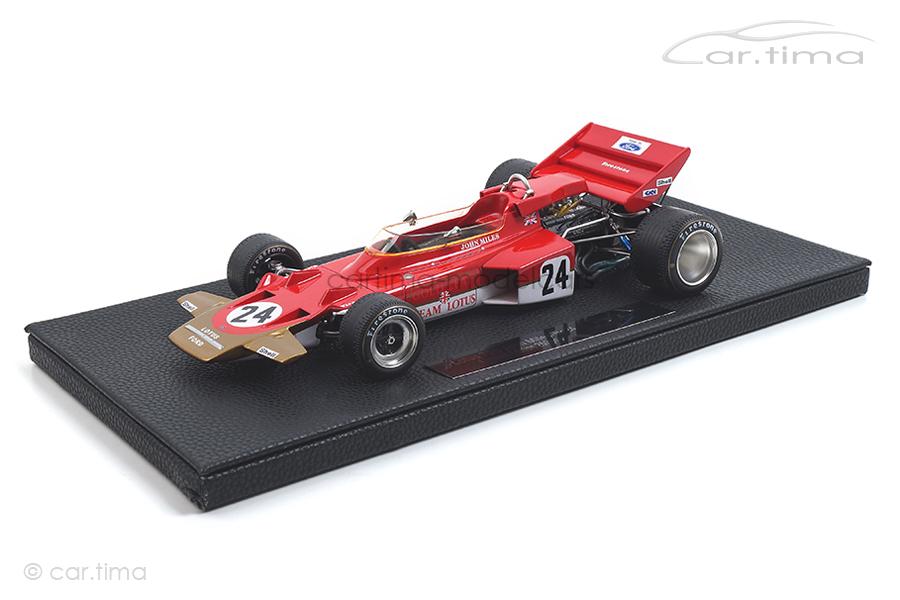 Lotus 72C GP 1970 John Miles GP Replicas 1:18 GP13B