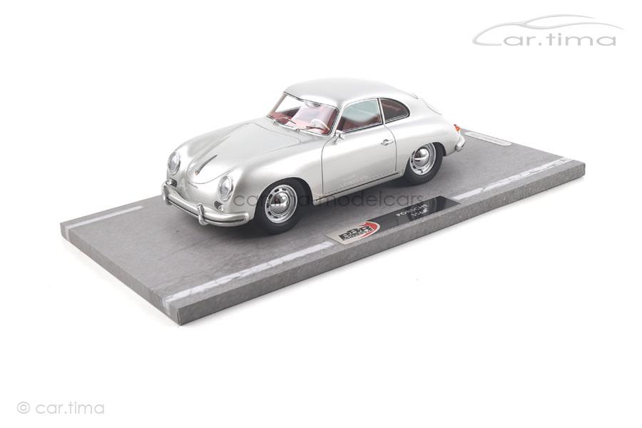 Porsche 356A 1955 silber BBR 1:18 BBR1820A