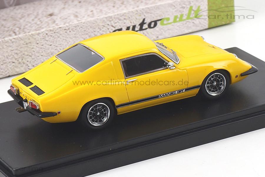 Manic GT 1969 gelb autocult 1:43 05002