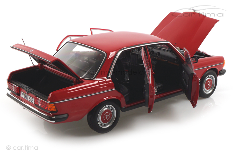 Mercedes-Benz 200 W123 Limousine rot Norev 1:18 183714
