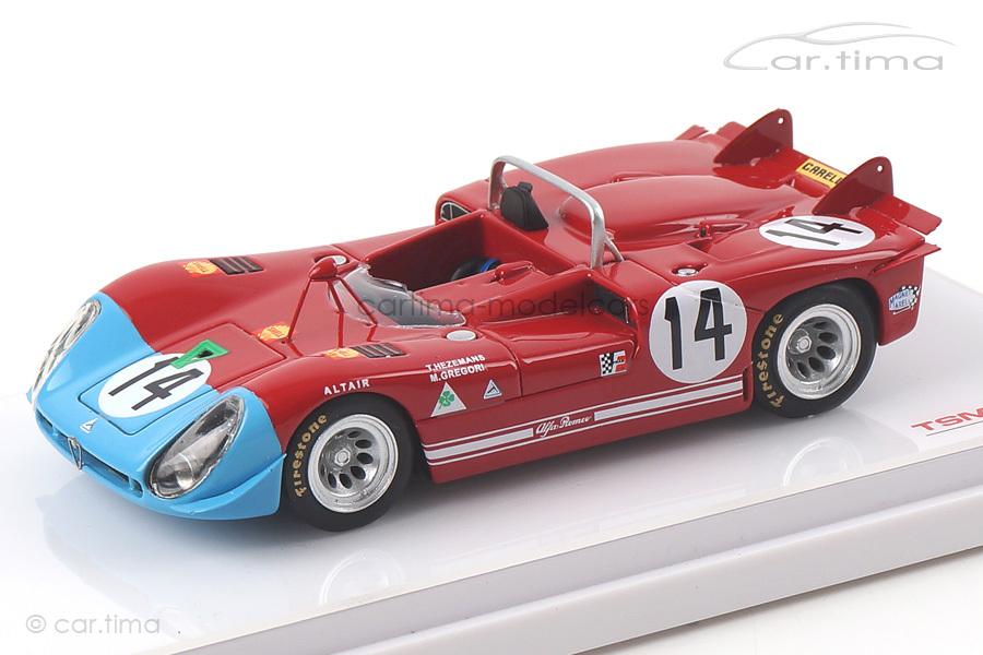 Alfa Romeo Tipo 33/3 Targa Florio 1970 Gregory/Hezemans TSM 1:43 TSM154365