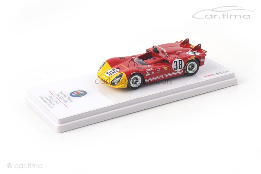 Alfa Romeo Tipo 33/3 1000 km Monza 1970 Galli/Stommelen TSM 1:43 TSM154312