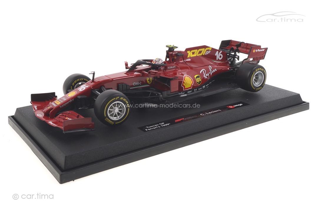 Ferrari SF1000 GP Toskana 2020 Charles Leclerc Bburago 1:18 18-16808