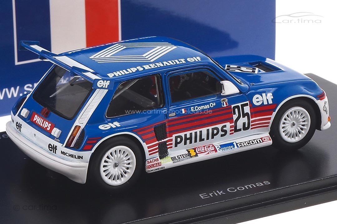 Renault 5 Maxi Turbo Superproduction 1987 Erik Comas Spark 1:43 SF055