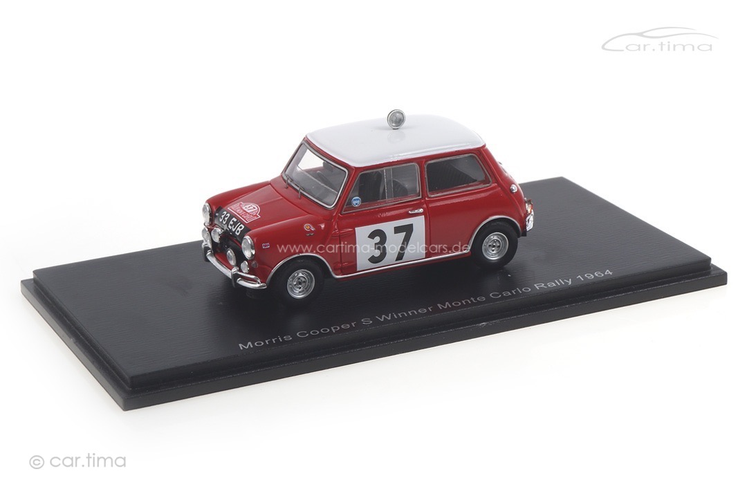 Morris Mini Cooper Winner Rallye Monte Carlo 1964 Hopkirk/Liddon Spark 1:43 S4890