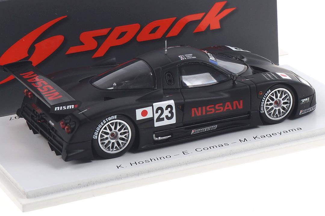 Nissan R390 GT1 Pre-Qualification 24h Le Mans 1997 Hoshino/Comas/Kageyama Spark 1:43 S3575