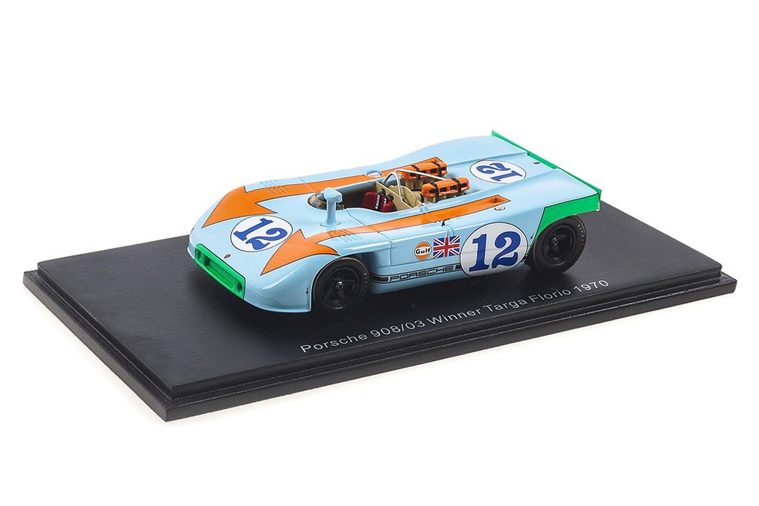 Porsche 908/03 Winner Targa Florio 1970 Siffert/Redman Spark 1:43 43TF70