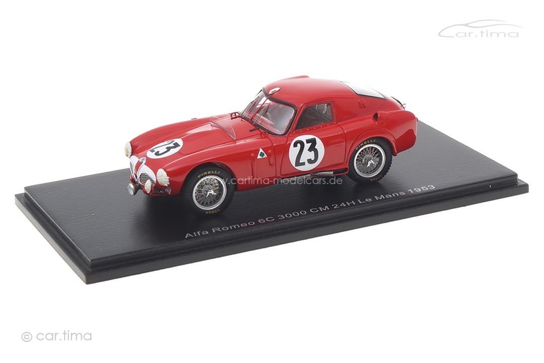 Alfa Romeo 6C 3000 CM 24h Le Mans 1953 Spark 1:43 S4704
