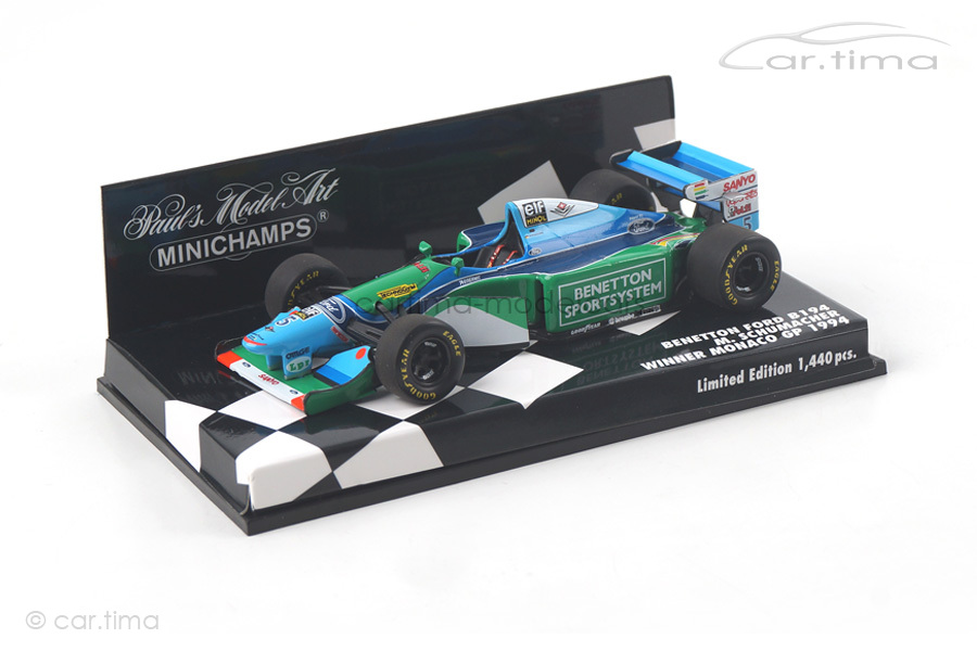 Benetton Ford B194 World Champion 1994 Michael Schumacher Minichamps 1:43 400940005