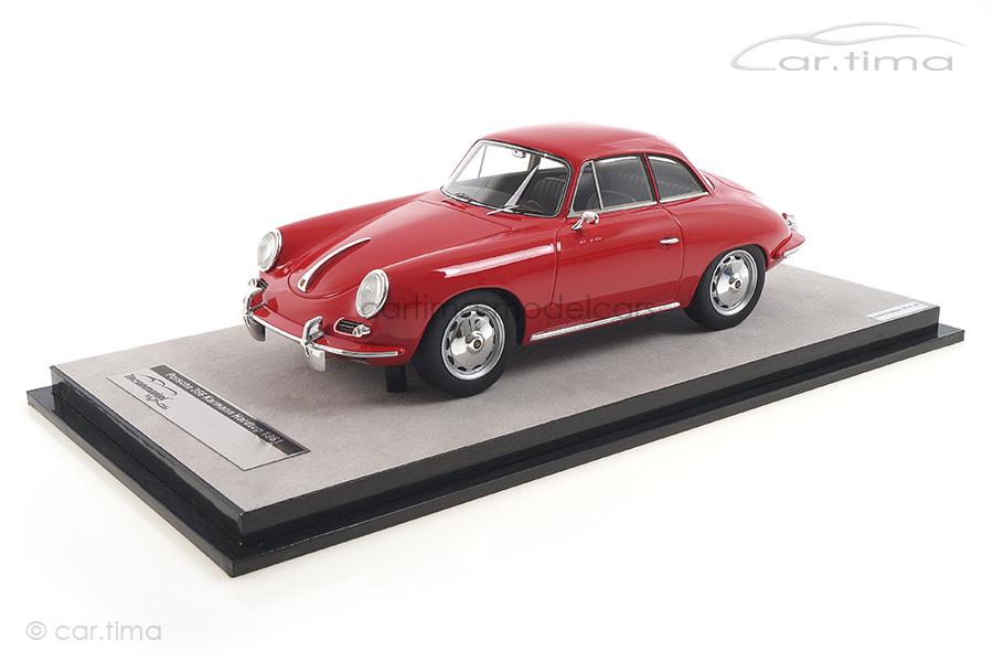 Porsche 356 Karmann Hardtop rot Tecnomodel 1:18 TM18-143B