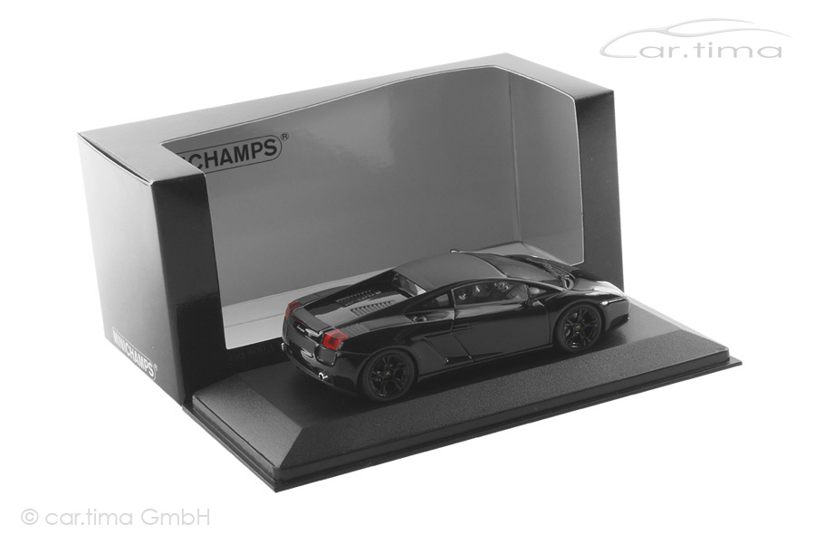 Lamborghini Gallardo schwarz Minichamps 1:43 400103504