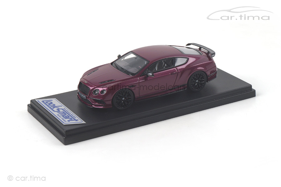 Bentley Continental Supersports Magenta LookSmart 1:43 LSBT012B