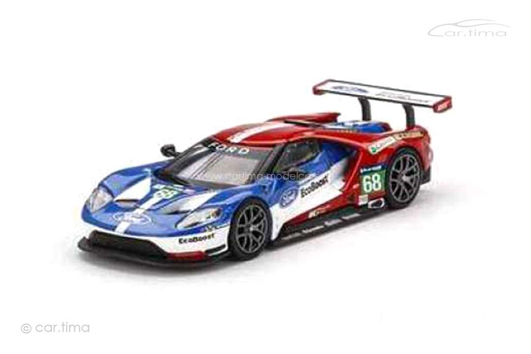 Ford GT Winner LMGTE Pro 24h Le Mans 2016 MINI GT 1:64 MGT00278