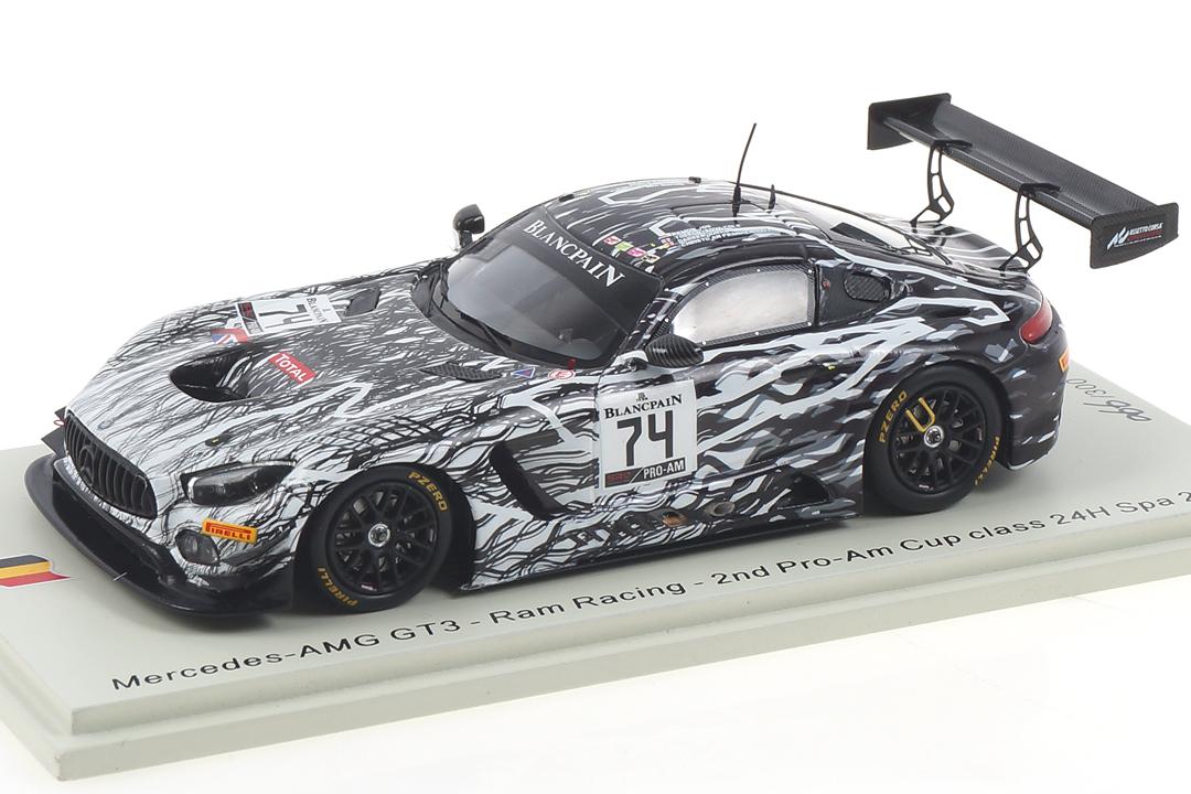 Mercedes-AMG GT3 24h Spa 2019 Burke/Frankenhout/Vos Spark 1:43 SB268