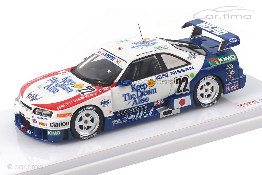 Nissan Skyline GT-R LM 24h Le Mans 1995 Fukuyama/Kasuya/Kondou TSM 1:43 TSM154343
