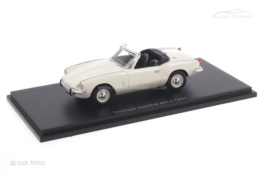 Triumph Spitfire MK3 1967 weiß Spark 1:43 S2473