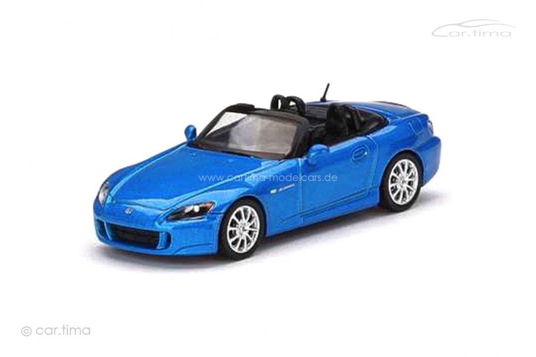 Honda S2000 (AP2) Laguna blue MINI GT 1:64 MGT00287