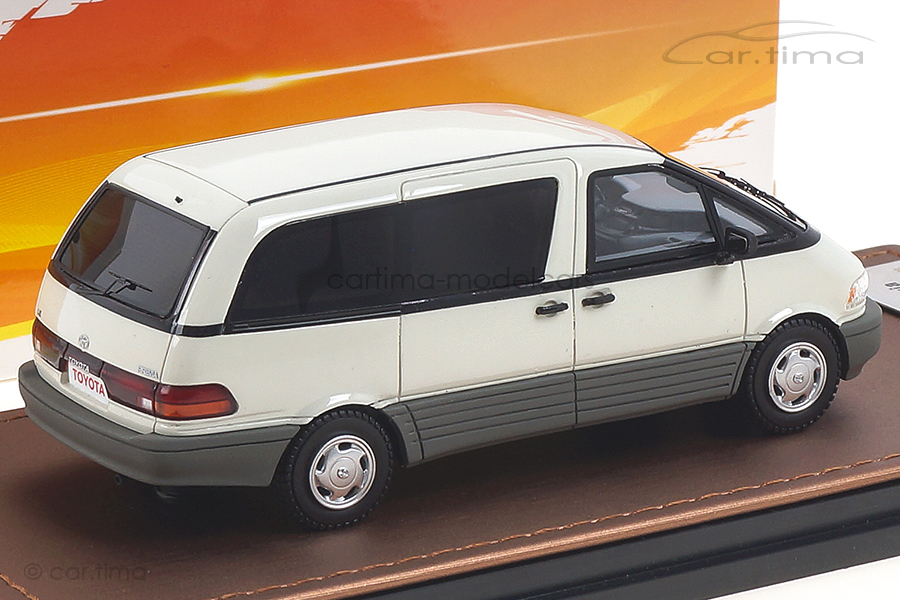 Toyota Previa weiß GLM 1:43 GLM300102