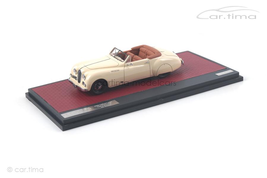 Talbot Lago T26 Antem Cabriolet 1950  Matrix Scale Models 1:43 MX51904-011
