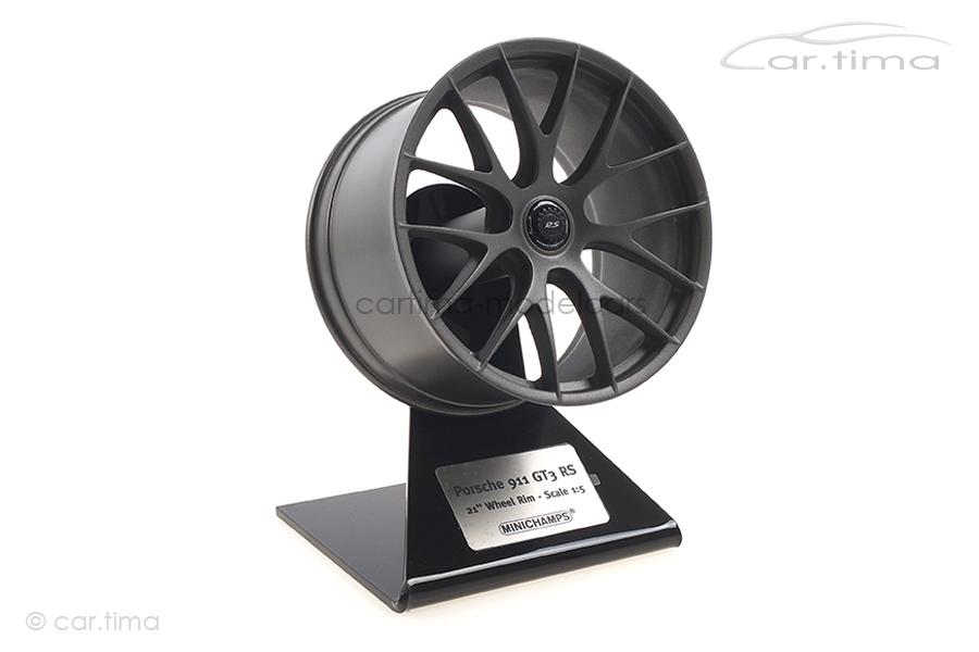 """""""Porsche 911 GT3 RS 21"""""""" Magnesium Felge/Rim Platinum Minichamps 1:5 500603991"""""""
