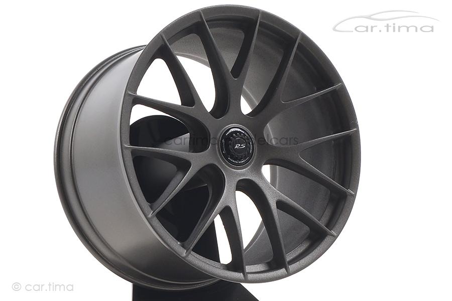 """Porsche 911 GT3 RS 21"""" Magnesium Felge/Rim Platinum Minichamps 1:5 500603991"""