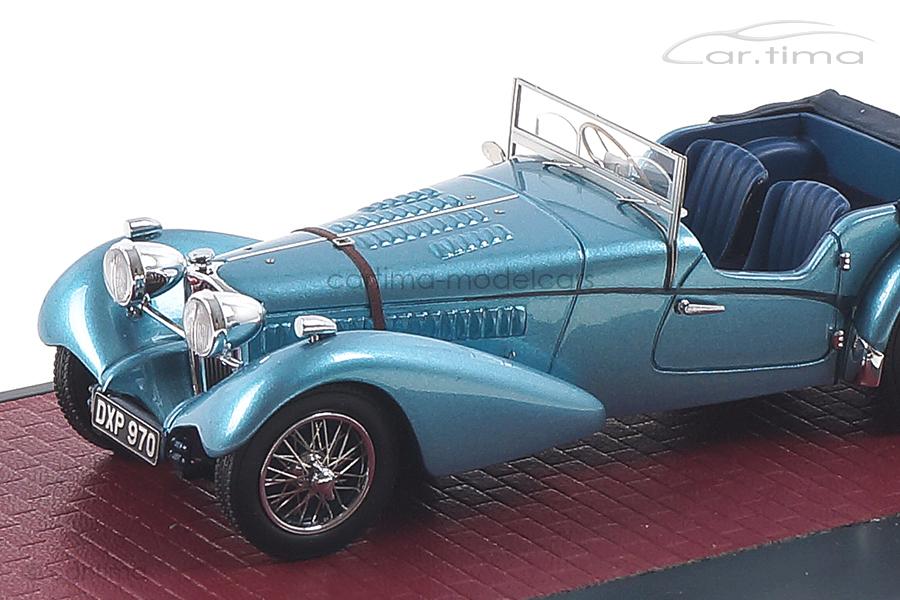 Bugatti T57SC Sports Tourer Vanden Plas blau met. Matrix 1:43 MX40205-101