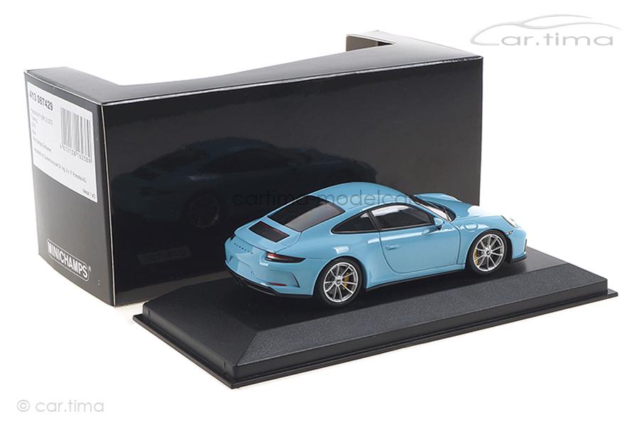 Porsche 911 (991 II) GT3 Touring Gulfblau Minichamps 1:43 413067429