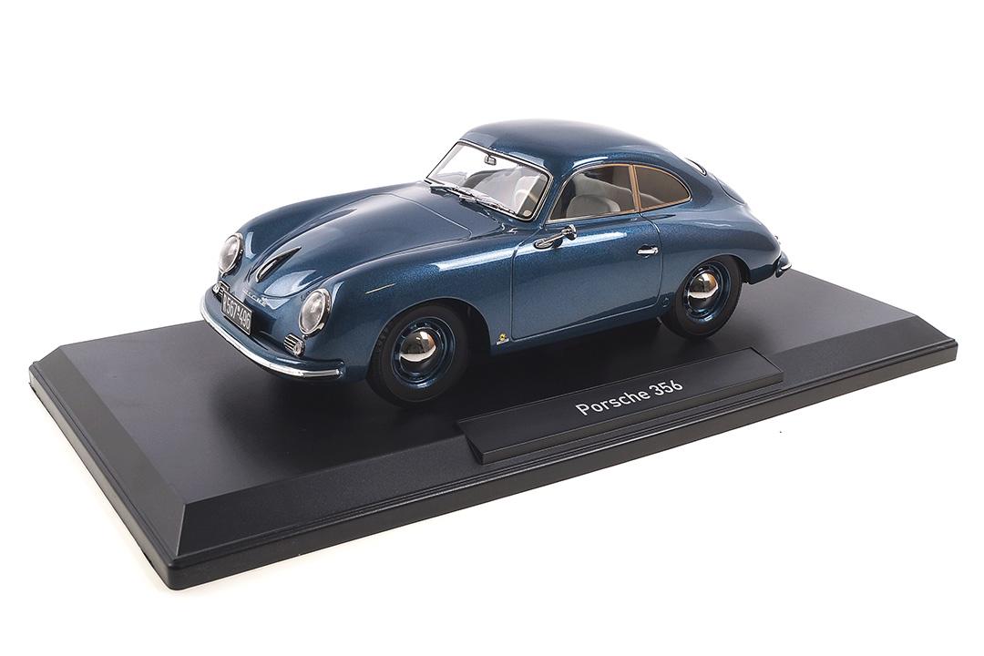 Porsche 356 Coupe 1952 blau Norev 1:18 187450