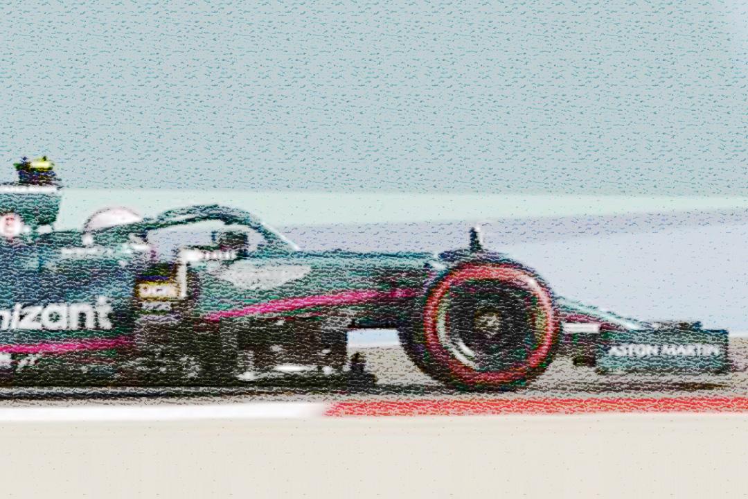 Aston Martin AMR21 GP Bahrain 2021 Sebastian Vettel Spark 1:43 S7672