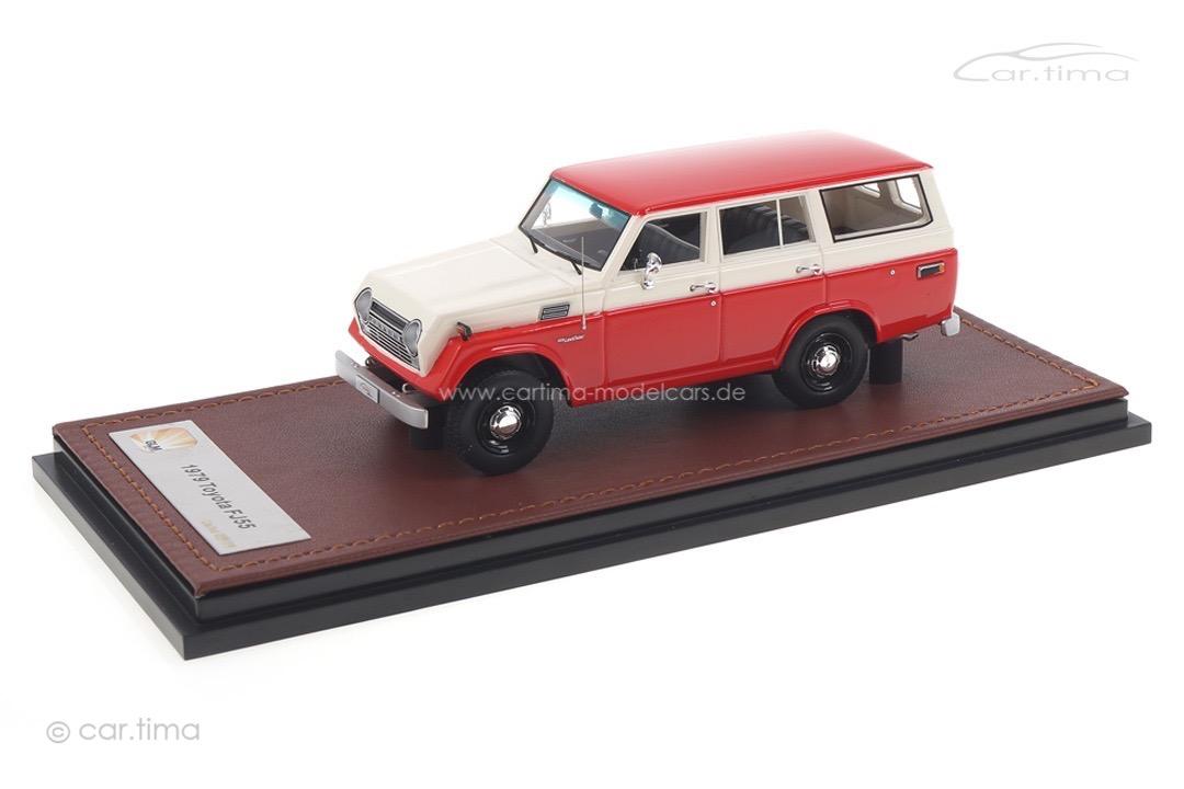 Toyota Land Cruiser FJ55 1979 rot/weiß GLM 1:43 GLM300405