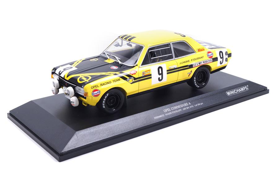 Opel Commodore A 24h Spa 1970 Haxhe/Toussaint Minichamps 1:18 155704609