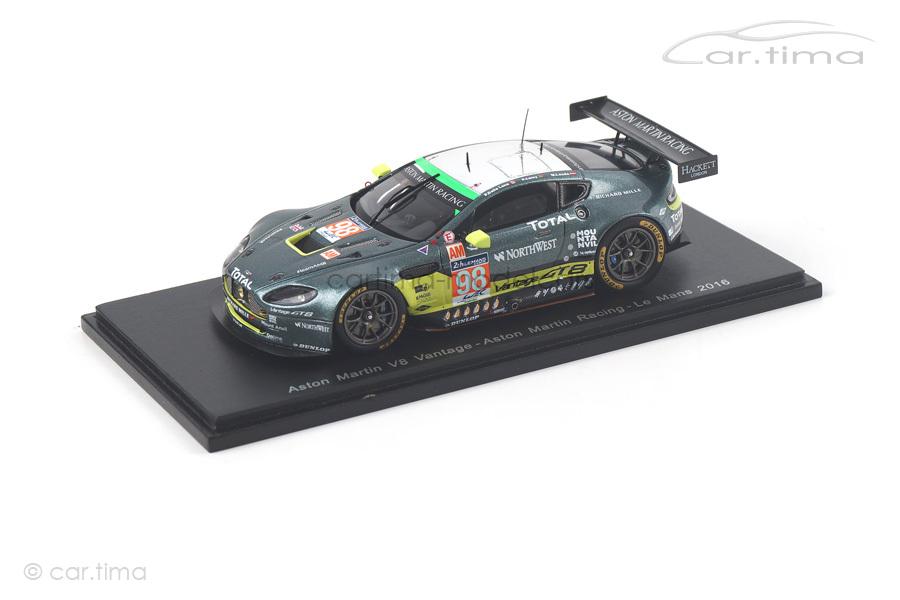 Aston Martin Vantage V8 24h Le Mans 2016 Lamy/Lauda/Dalla Lana Spark 1:43 S5144
