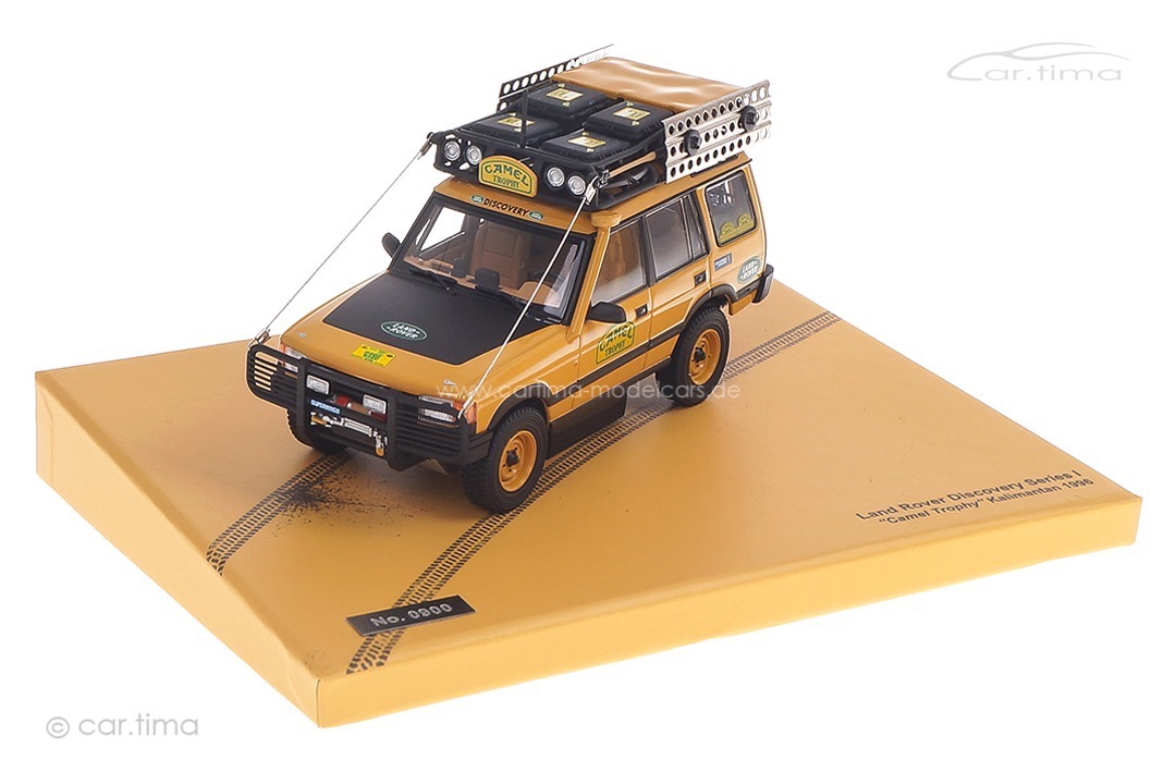 Land Rover Discovery Series I Camel Trophy Kalimantan 1996 Almost Real 1:43 410410