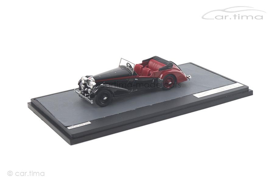 Alvis 4.3 Litre Vanden Plas Tourer schwarz Matrix Scale Models 1:43 MX10105-011