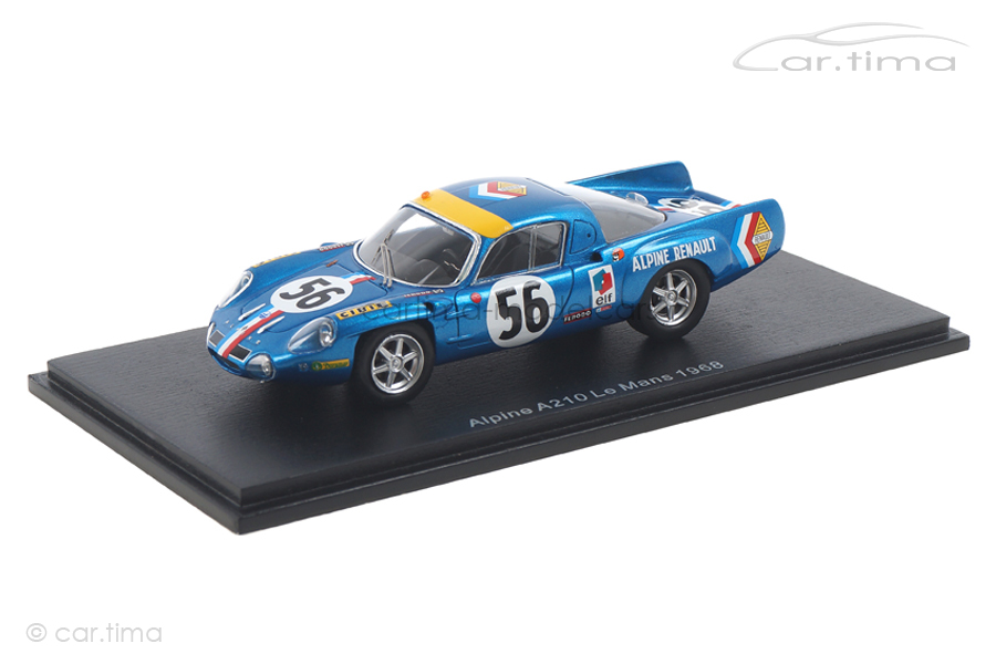 Alpine A210 24h Le Mans 1968 Marnat/Gerbault Spark 1:43 S5474