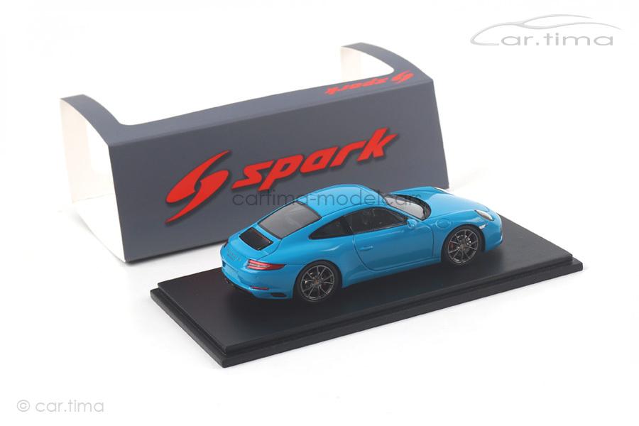 Porsche 911 (991 II) Carrera S Miamiblau Spark 1:43 S4937