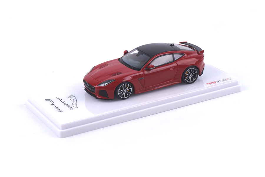Jaguar F-Type SVR AWD Caldera red TSM 1:43 TSM430148