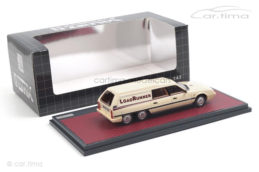 Citroen CX Break Loadrunner Baujahr 1989 beige Matrix Scale Models 1:43 MX10304-032