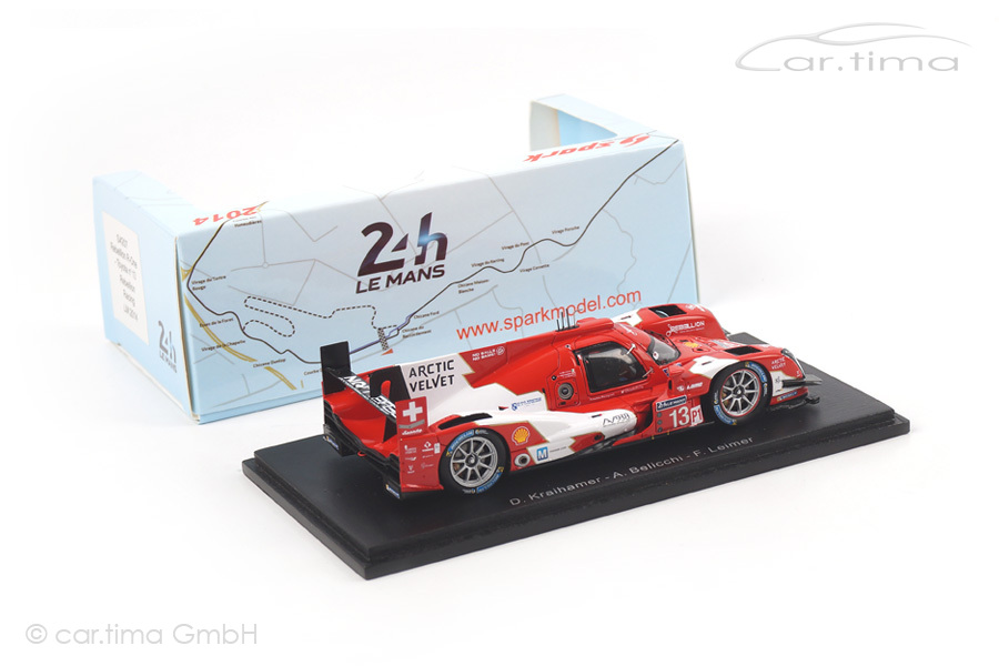 Rebellion R-One-Toyota 24h Le Mans 2014 Kraihamer/Belicchi/Leimer Spark 1:43 S4207