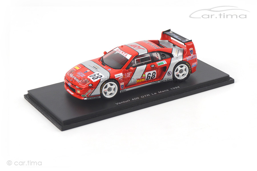 Venturi 400 GTR 24h Le Mans 1994 Camp/Puig/Sirera Spark 1:43 S2283