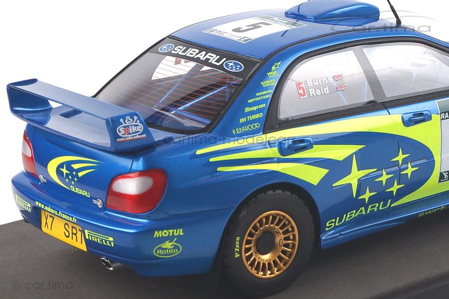 Subaru Impreza S7 555 WRT Winner New Zealand 2001 Burns/Reid Top Marques 1:18 TOP37B