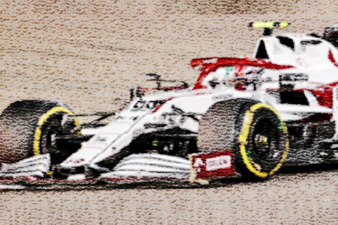 Alfa Romeo Sauber F1 GP Bahrain 2021 Antonio Giovinazzi Spark 1:43 S7663