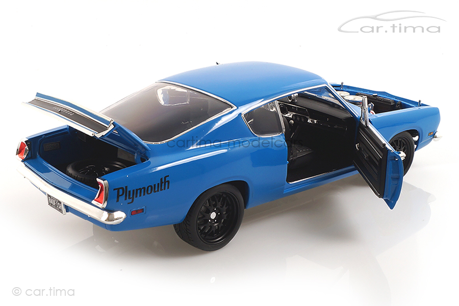 Plymouth Hemi Cuda Street Fighter blau ACME 1:18 A1806117