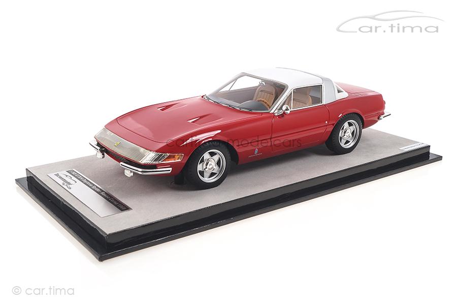 Ferrari 365 GTB/4 Daytona Coupe 1969 rot Tecnomodel 1:18 TM18-108B