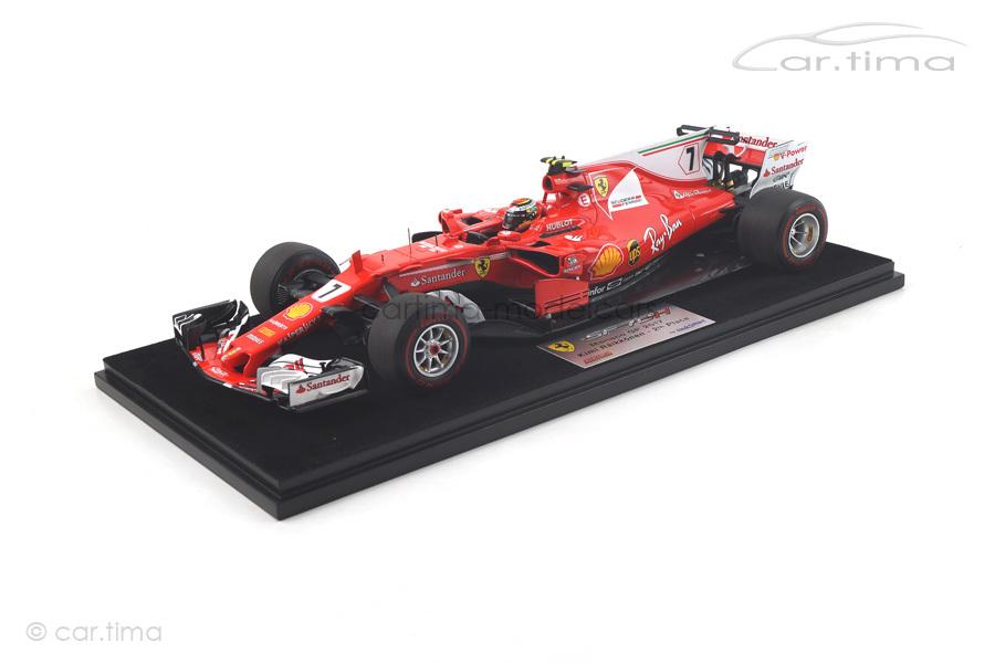 Ferrari SF70-H GP Monaco 2017 Kimi Räikkönen LookSmart 1:18 LS18F1010