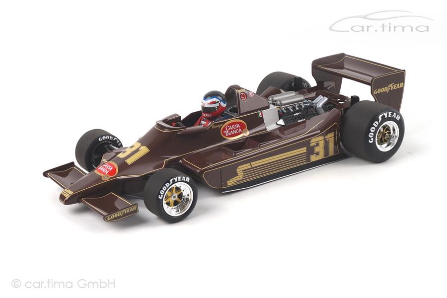 Lotus Ford 79 Formel 1 1979  Hector Rebaque  Minichamps 1:18 100790031