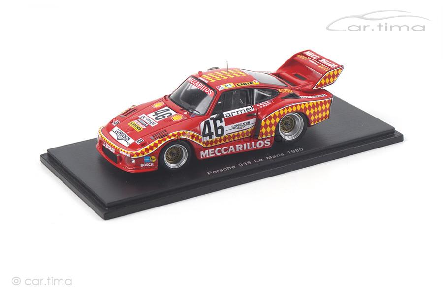 Porsche 935 24h Le Mans 1980 Beguin/Haldi/Merl Spark 1:43 S5501